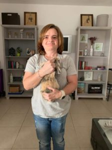Lola, presidenta de la aefdcc